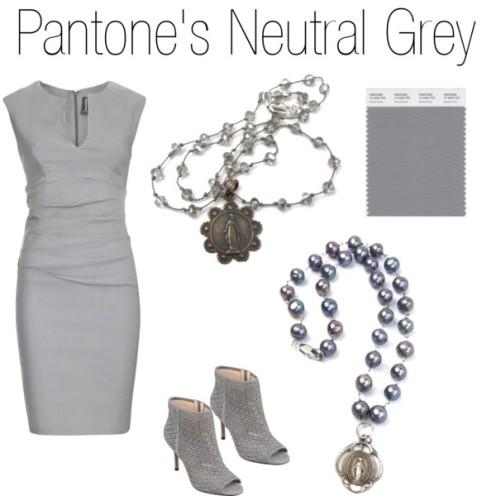 neutral gray blog