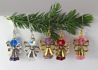 Angel Charm/Earrings
